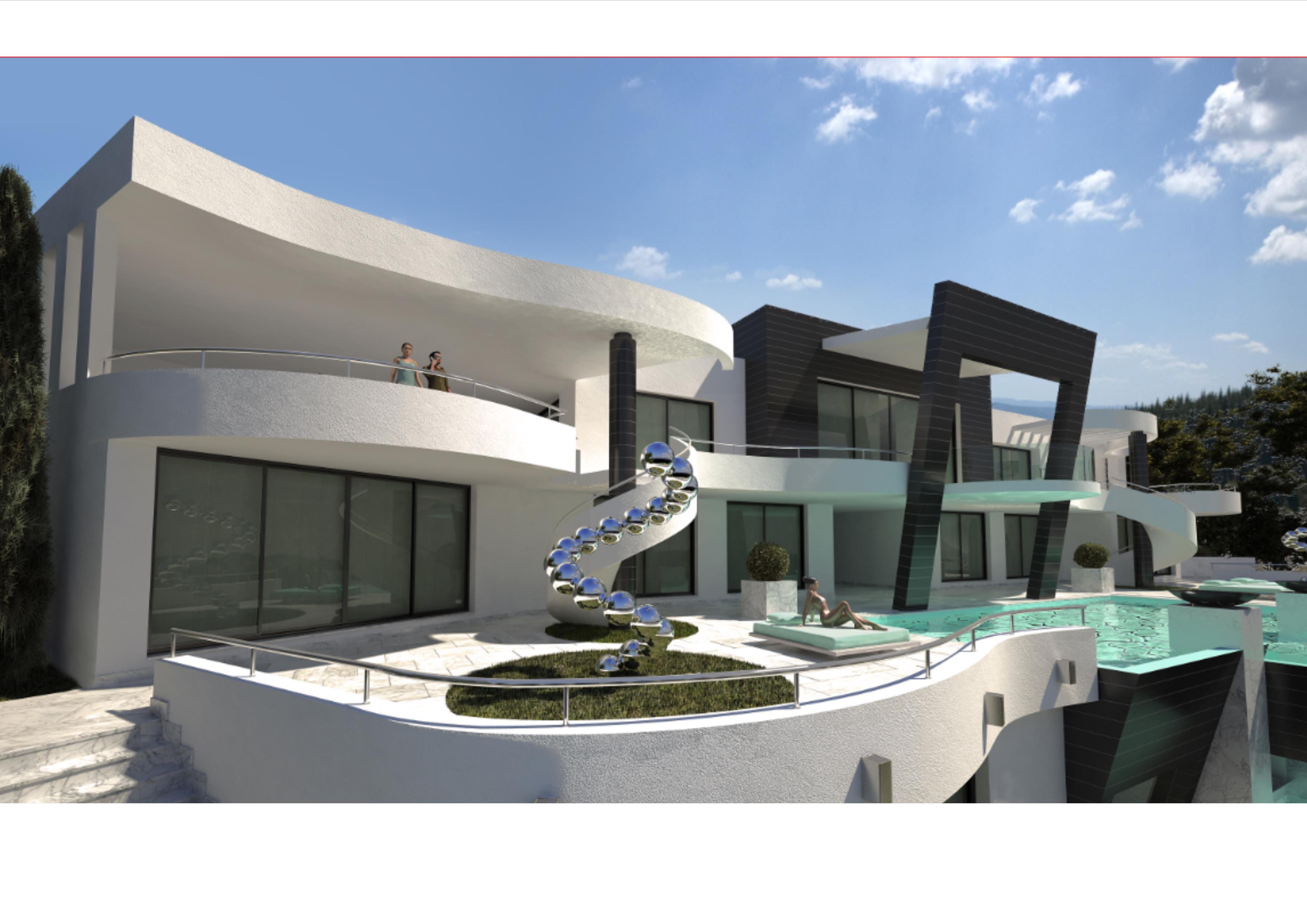 A super modern villa project in marbella south spain for Best modern villa designs